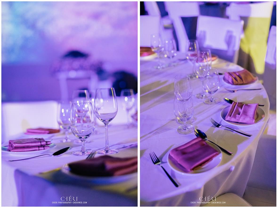 so sofitel bangkok wedding reception cheriwed tua pa 107 - SO Sofitel Bangkok Wedding Reception of Pa and Tua - งานแต่งงานสุดชิคในธีมสีม่วง ทุ่งลาเวนเดอร์ ที่โรงแรม โซ โซฟิเทล เเบงคอก