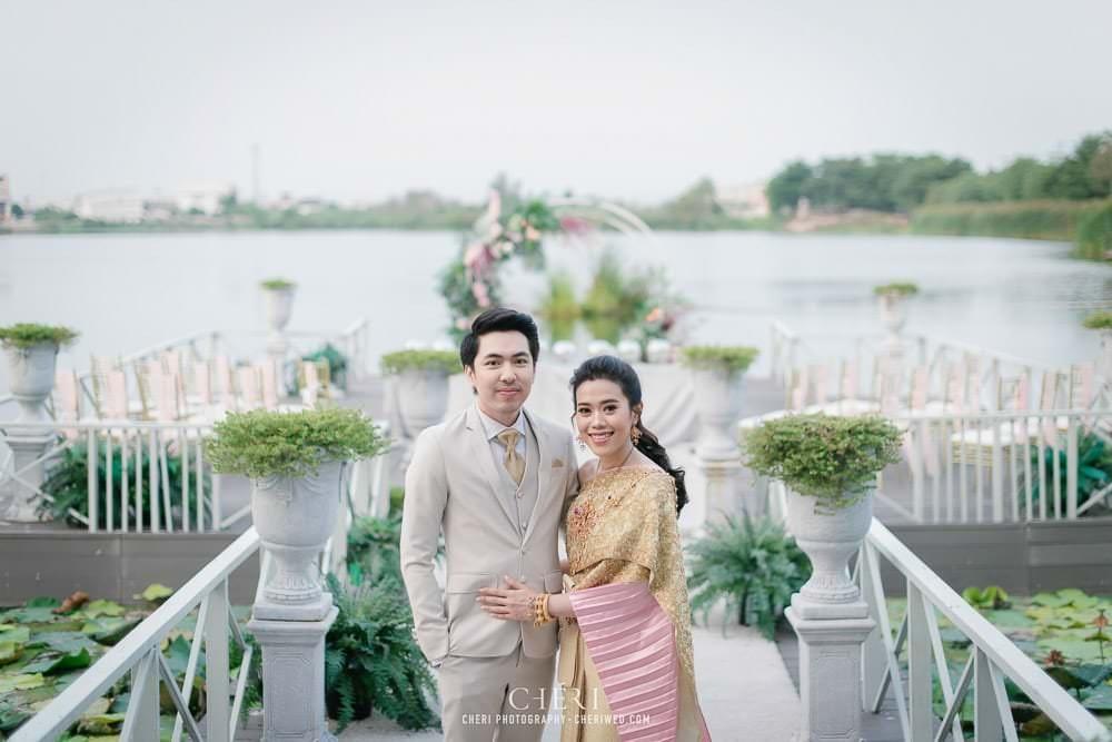RuenPraKaiPetch thai wedding ceremony cheri weding 15 - รีวิว ภาพถ่ายผลงาน งานแต่งพิธีหมั้นแบบไทย สถานที่จัดงานแต่งงาน ริมทะเลสาบ เรือนประกายเพชร เรือนไทยสไตล์โคโลเนียล คุณสุนิธี และคุณนัฐวุฒิ