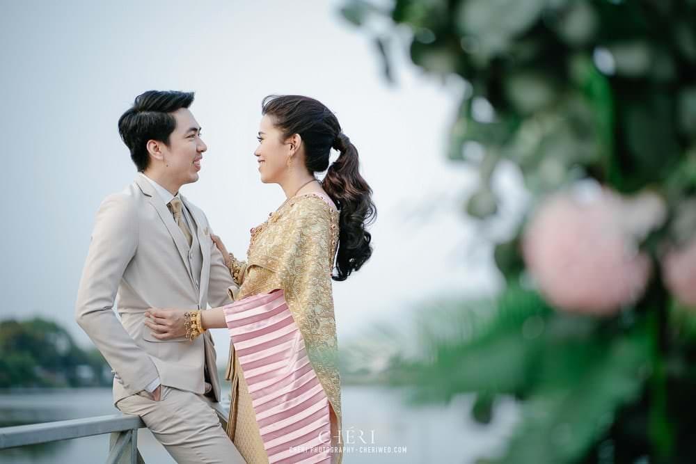 RuenPraKaiPetch thai wedding ceremony cheri weding 26 - รีวิว ภาพถ่ายผลงาน งานแต่งพิธีหมั้นแบบไทย สถานที่จัดงานแต่งงาน ริมทะเลสาบ เรือนประกายเพชร เรือนไทยสไตล์โคโลเนียล คุณสุนิธี และคุณนัฐวุฒิ