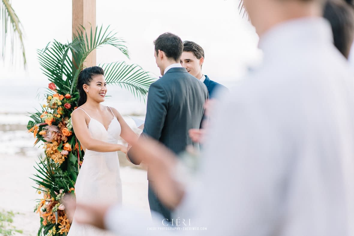 thailand destination beach western wedding photography cape panwa beach phuket 226 - Thailand Beach Western Destination Wedding at Cape Panwa Hotel Phuket, Nokweed and JB