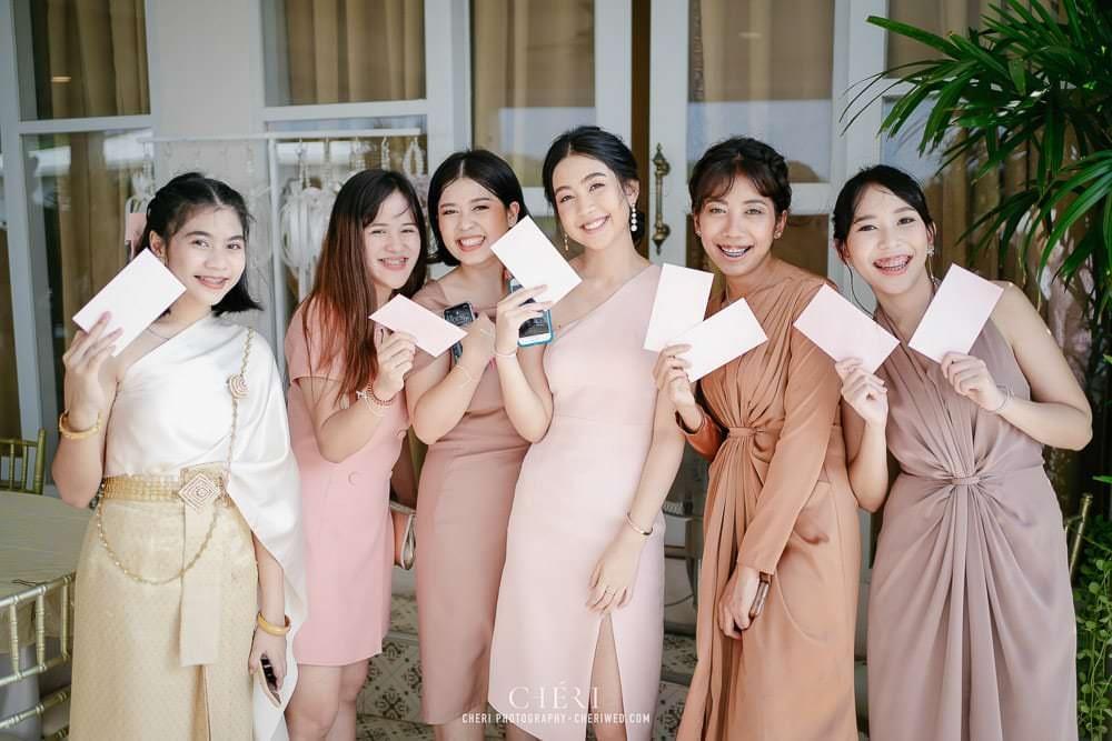 RuenPraKaiPetch thai wedding ceremony cheri weding 130 - รีวิว ภาพถ่ายผลงาน งานแต่งพิธีหมั้นแบบไทย สถานที่จัดงานแต่งงาน ริมทะเลสาบ เรือนประกายเพชร เรือนไทยสไตล์โคโลเนียล คุณสุนิธี และคุณนัฐวุฒิ