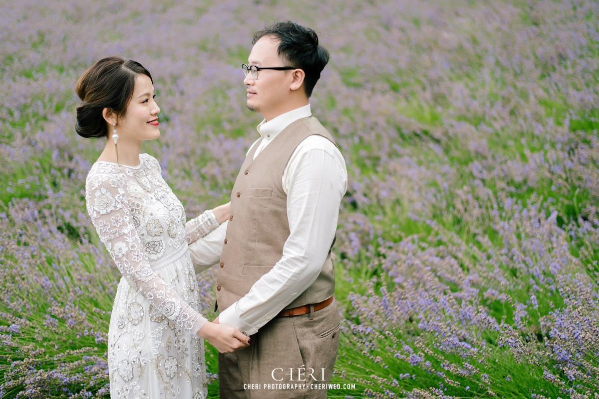 cheriwed pre wedding in hokkaido japan tomita farm lavender field 08 - Pre-Wedding Photo in Hokkaido, Japan with Lavender Field at Tomita Farm - Lowina & Simon from Hong Kong