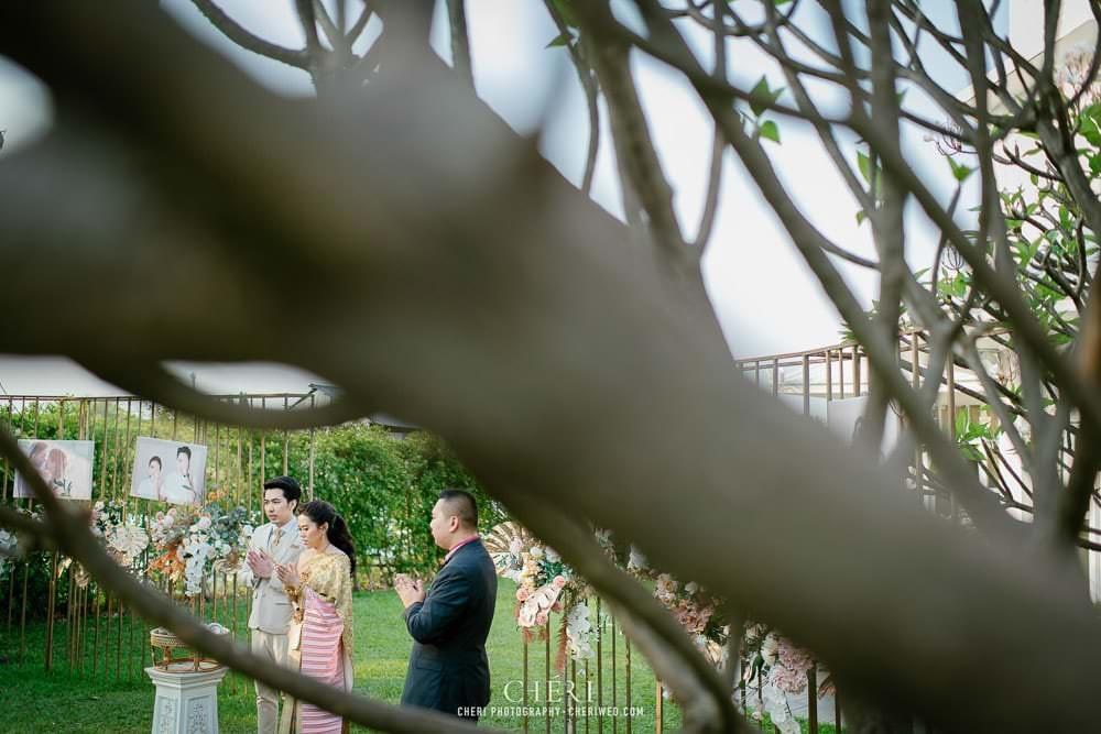 RuenPraKaiPetch thai wedding ceremony cheri weding 83 - รีวิว ภาพถ่ายผลงาน งานแต่งพิธีหมั้นแบบไทย สถานที่จัดงานแต่งงาน ริมทะเลสาบ เรือนประกายเพชร เรือนไทยสไตล์โคโลเนียล คุณสุนิธี และคุณนัฐวุฒิ