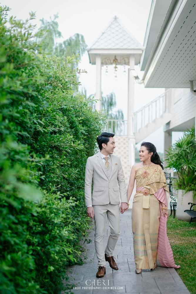 RuenPraKaiPetch thai wedding ceremony cheri weding 14 - รีวิว ภาพถ่ายผลงาน งานแต่งพิธีหมั้นแบบไทย สถานที่จัดงานแต่งงาน ริมทะเลสาบ เรือนประกายเพชร เรือนไทยสไตล์โคโลเนียล คุณสุนิธี และคุณนัฐวุฒิ