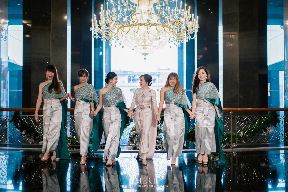 swissotel bangkok ratchada thai wedding ceremony 13