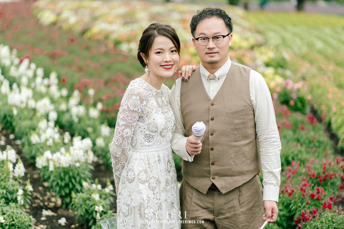 cheriwed pre wedding in hokkaido japan tomita farm lavender field 05 - Pre-Wedding Photo in Hokkaido, Japan with Lavender Field at Tomita Farm - Lowina & Simon from Hong Kong