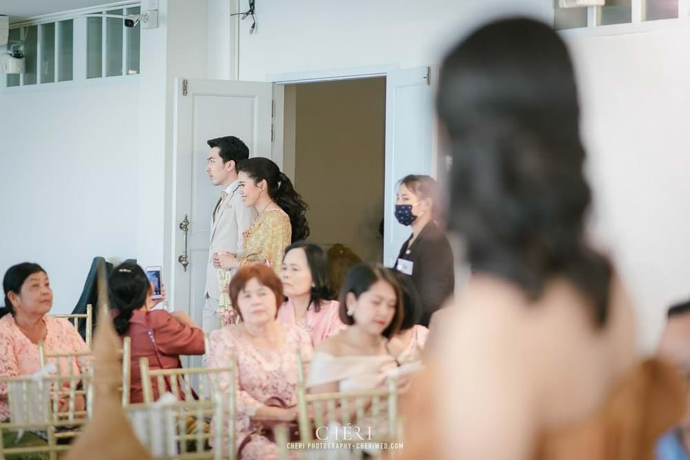 RuenPraKaiPetch thai wedding ceremony cheri weding 154 - รีวิว ภาพถ่ายผลงาน งานแต่งพิธีหมั้นแบบไทย สถานที่จัดงานแต่งงาน ริมทะเลสาบ เรือนประกายเพชร เรือนไทยสไตล์โคโลเนียล คุณสุนิธี และคุณนัฐวุฒิ