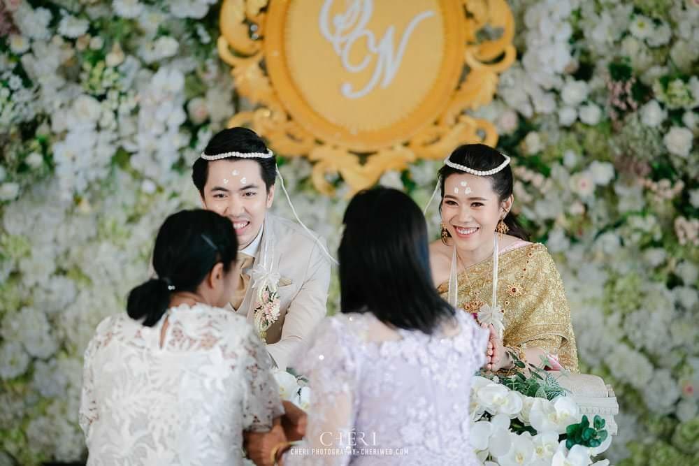 RuenPraKaiPetch thai wedding ceremony cheri weding 211 - รีวิว ภาพถ่ายผลงาน งานแต่งพิธีหมั้นแบบไทย สถานที่จัดงานแต่งงาน ริมทะเลสาบ เรือนประกายเพชร เรือนไทยสไตล์โคโลเนียล คุณสุนิธี และคุณนัฐวุฒิ