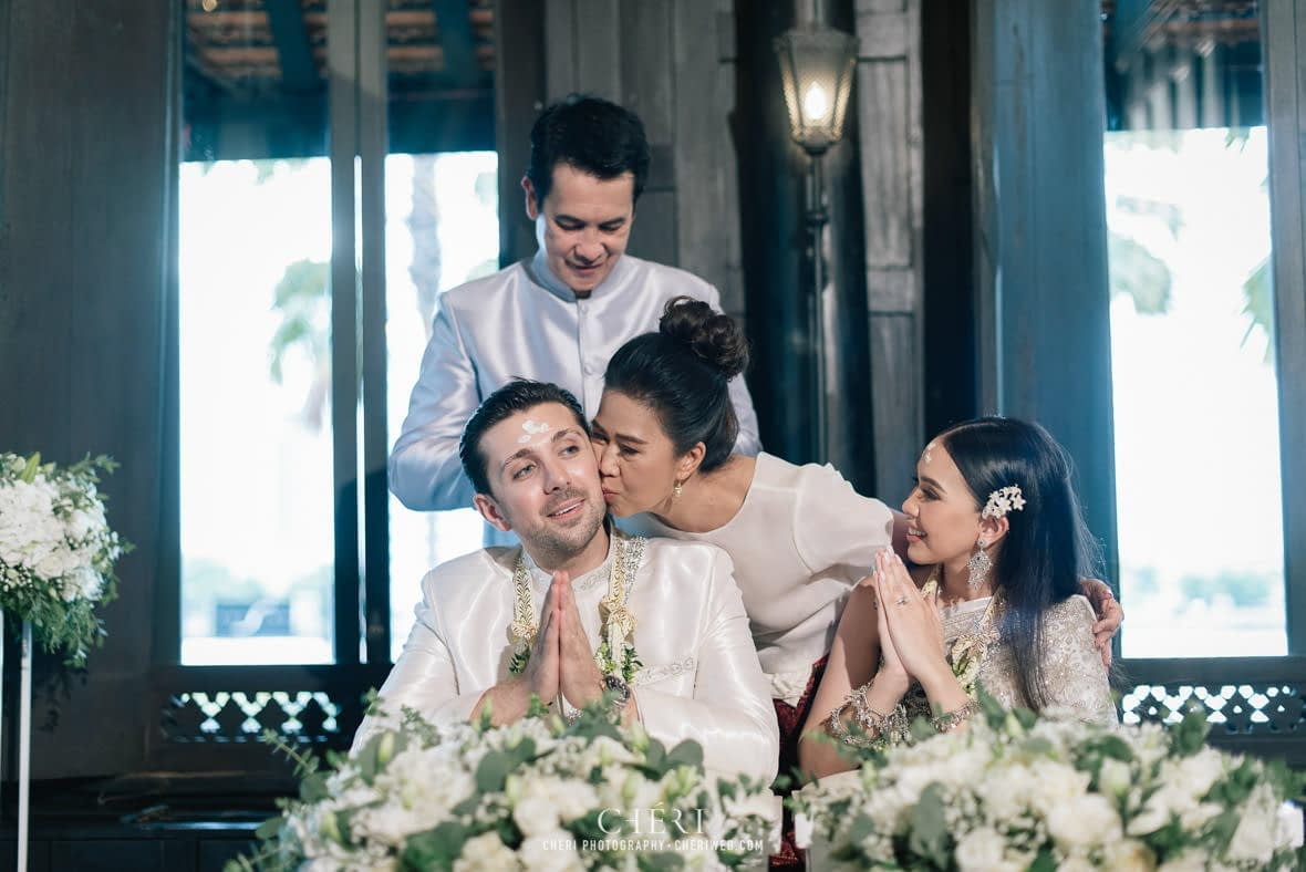 the siam hotel bangkok thailand wedding ceremony 161 - The Siam Hotel, Bangkok - Luxury Hotel on the Chao Phraya River - Glamorous Thai Wedding Ceremony of Katy and Suleyman
