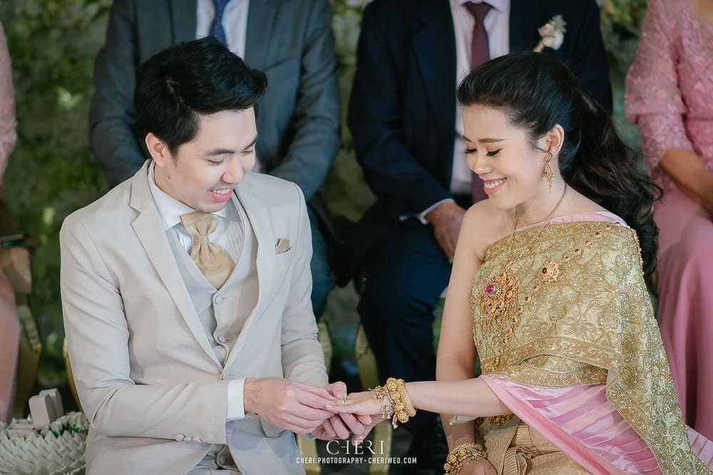 RuenPraKaiPetch thai wedding ceremony cheri weding 180 - รีวิว ภาพถ่ายผลงาน งานแต่งพิธีหมั้นแบบไทย สถานที่จัดงานแต่งงาน ริมทะเลสาบ เรือนประกายเพชร เรือนไทยสไตล์โคโลเนียล คุณสุนิธี และคุณนัฐวุฒิ