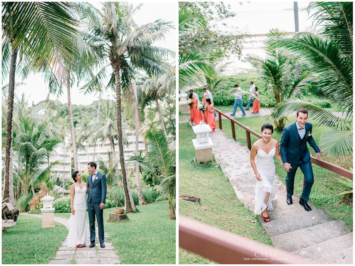 thailand destination beach western wedding photography cape panwa beach phuket 270 - Thailand Beach Western Destination Wedding at Cape Panwa Hotel Phuket, Nokweed and JB