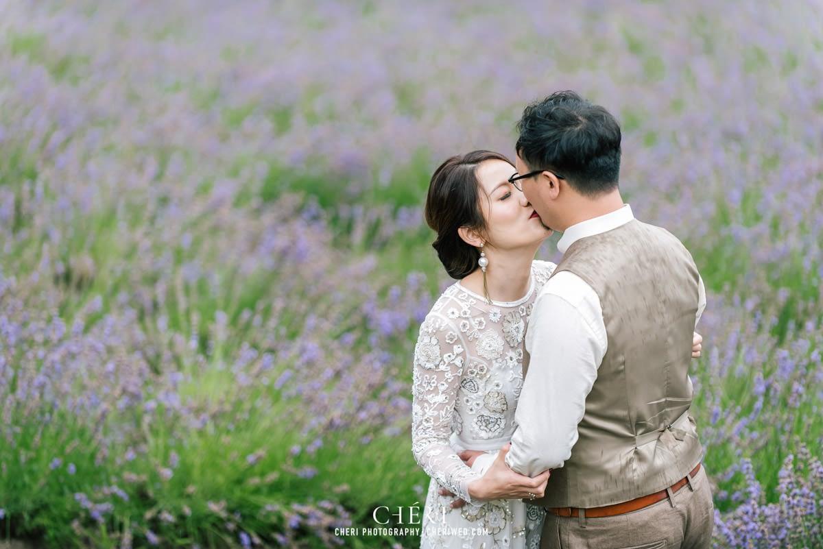 cheriwed pre wedding in hokkaido japan tomita farm lavender field 31 - Pre-Wedding Photo in Hokkaido, Japan with Lavender Field at Tomita Farm - Lowina & Simon from Hong Kong