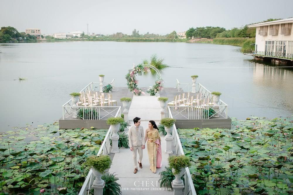 RuenPraKaiPetch thai wedding ceremony cheri weding 31 - รีวิว ภาพถ่ายผลงาน งานแต่งพิธีหมั้นแบบไทย สถานที่จัดงานแต่งงาน ริมทะเลสาบ เรือนประกายเพชร เรือนไทยสไตล์โคโลเนียล คุณสุนิธี และคุณนัฐวุฒิ