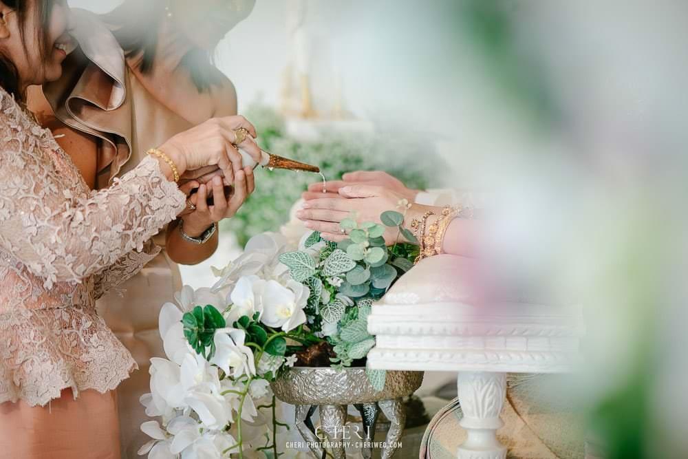 RuenPraKaiPetch thai wedding ceremony cheri weding 209 - รีวิว ภาพถ่ายผลงาน งานแต่งพิธีหมั้นแบบไทย สถานที่จัดงานแต่งงาน ริมทะเลสาบ เรือนประกายเพชร เรือนไทยสไตล์โคโลเนียล คุณสุนิธี และคุณนัฐวุฒิ