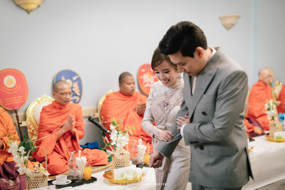 swissotel bangkok ratchada thai wedding ceremony 62