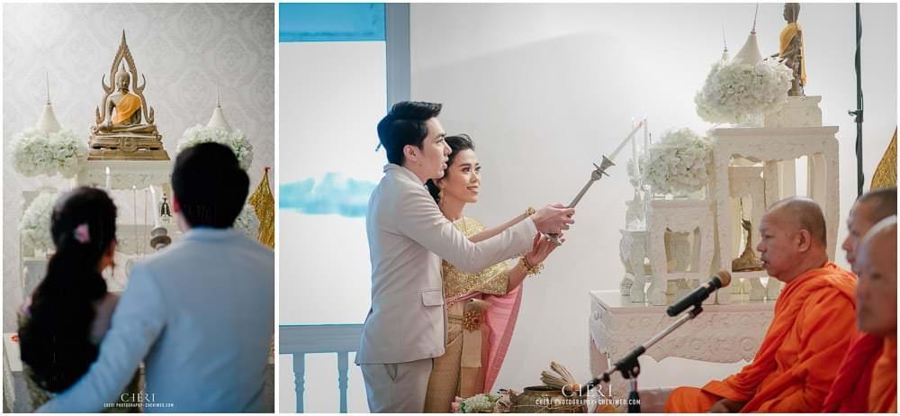 RuenPraKaiPetch thai wedding ceremony cheri weding 45 - รีวิว ภาพถ่ายผลงาน งานแต่งพิธีหมั้นแบบไทย สถานที่จัดงานแต่งงาน ริมทะเลสาบ เรือนประกายเพชร เรือนไทยสไตล์โคโลเนียล คุณสุนิธี และคุณนัฐวุฒิ