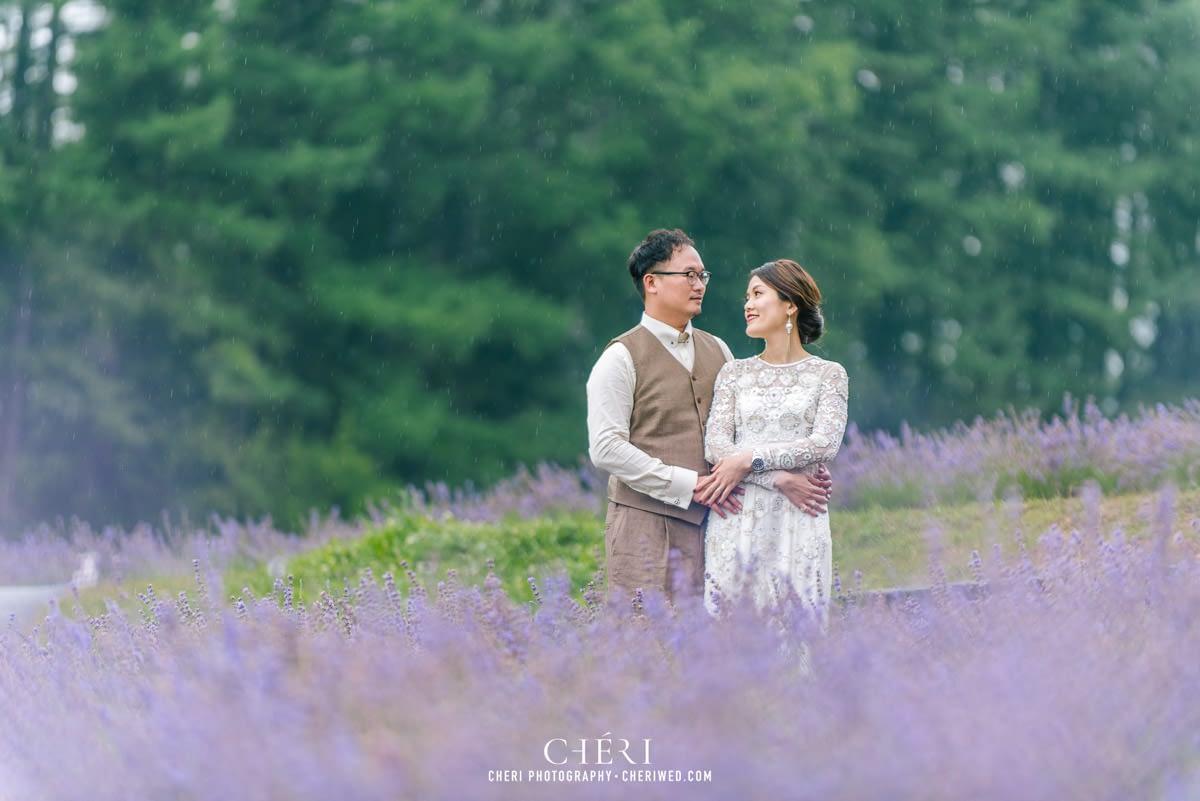 cheriwed pre wedding in hokkaido japan tomita farm lavender field 23 - Pre-Wedding Photo in Hokkaido, Japan with Lavender Field at Tomita Farm - Lowina & Simon from Hong Kong
