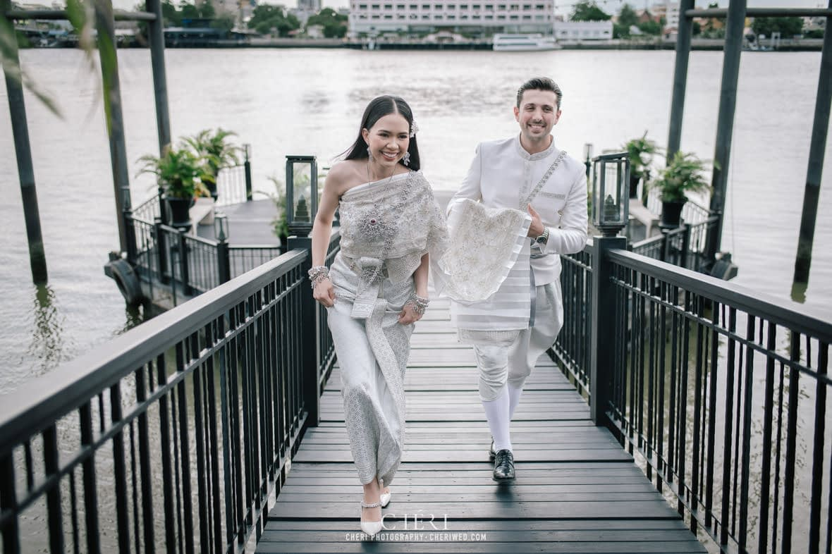 the siam hotel bangkok thailand wedding ceremony 91 - The Siam Hotel, Bangkok - Luxury Hotel on the Chao Phraya River - Glamorous Thai Wedding Ceremony of Katy and Suleyman