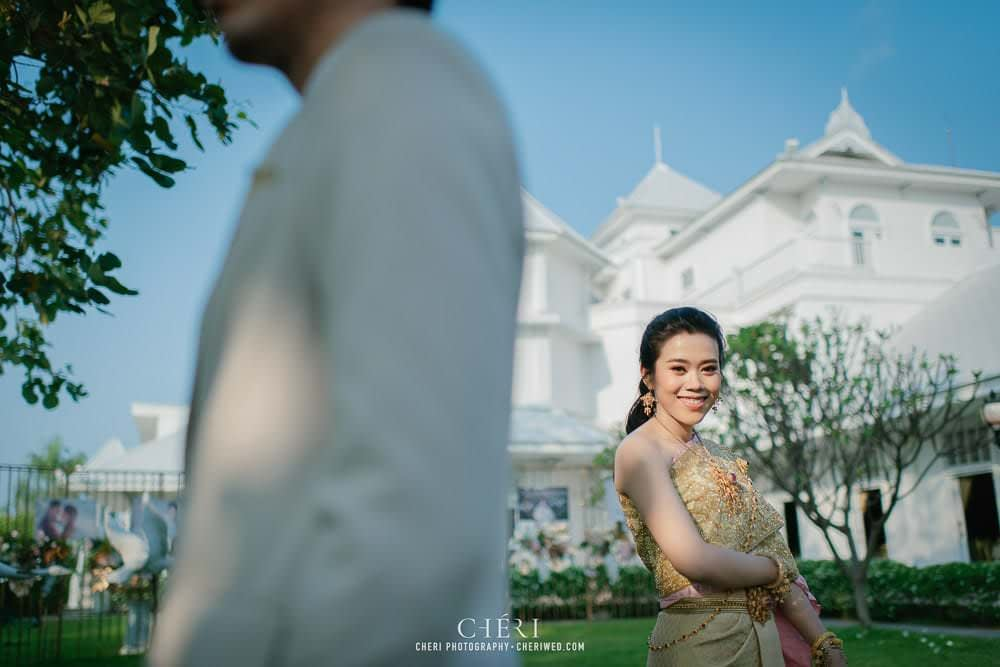RuenPraKaiPetch thai wedding ceremony cheri weding 97 - รีวิว ภาพถ่ายผลงาน งานแต่งพิธีหมั้นแบบไทย สถานที่จัดงานแต่งงาน ริมทะเลสาบ เรือนประกายเพชร เรือนไทยสไตล์โคโลเนียล คุณสุนิธี และคุณนัฐวุฒิ