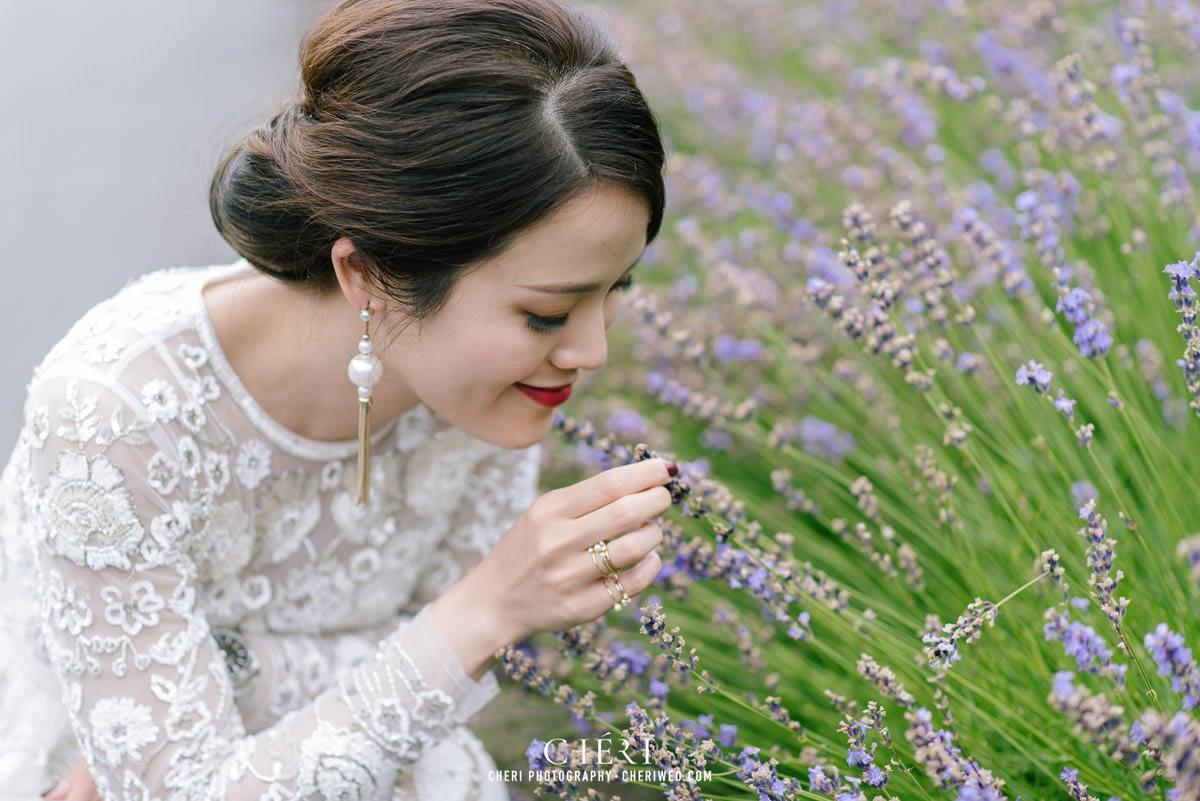 cheriwed pre wedding in hokkaido japan tomita farm lavender field 47 - Pre-Wedding Photo in Hokkaido, Japan with Lavender Field at Tomita Farm - Lowina & Simon from Hong Kong