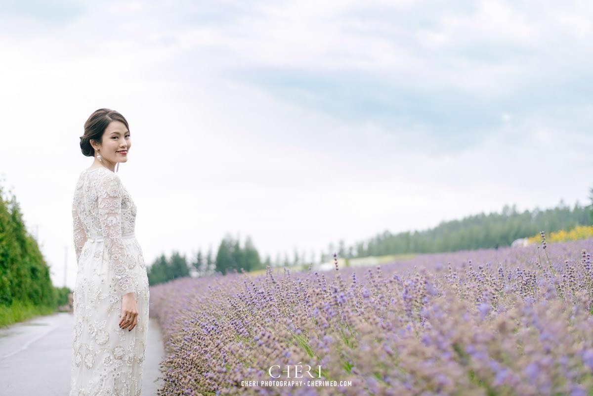 cheriwed pre wedding in hokkaido japan tomita farm lavender field 44 - Pre-Wedding Photo in Hokkaido, Japan with Lavender Field at Tomita Farm - Lowina & Simon from Hong Kong