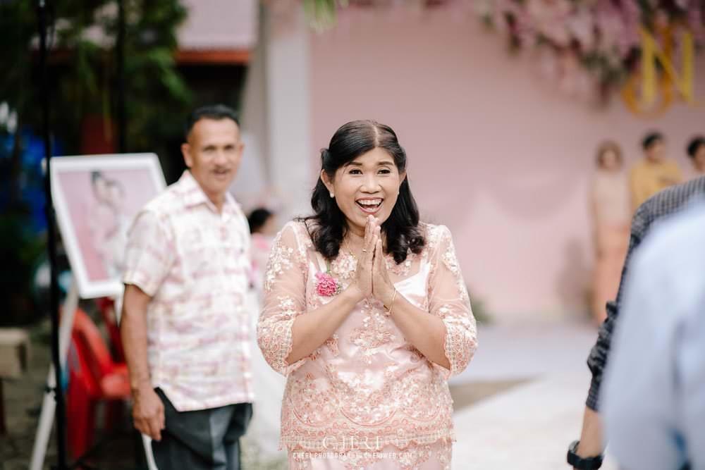 cheri wedding at home wedding reception thailand 40 - งานแต่งที่บ้าน งานแต่งงาน งานเลี้ยงฉลอง มงคลสมรส คุณนิว และคุณอู๋ จังหวัดสุราษฎร์ธานี