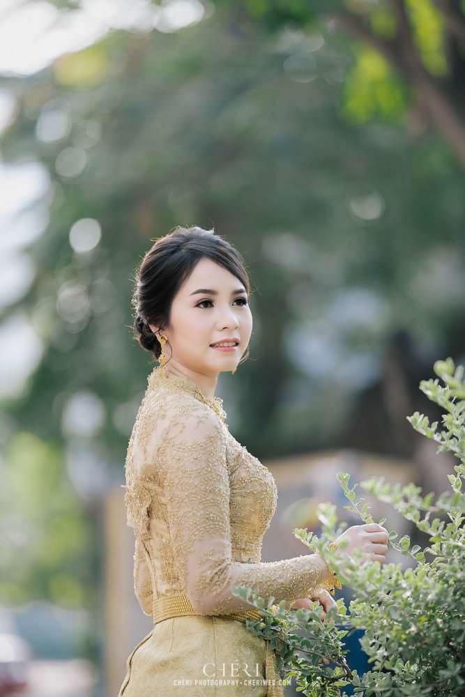 รวมภาพเจ้าสาวในชุดไทยจักรี ชุดไทยจักรพรรดิ 2020 - Beautiful Bride in Thai Traditional Wedding Dress 9