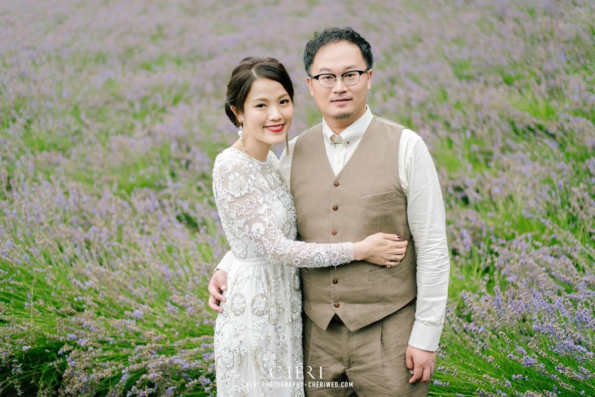 cheriwed pre wedding in hokkaido japan tomita farm lavender field 07 - Pre-Wedding Photo in Hokkaido, Japan with Lavender Field at Tomita Farm - Lowina & Simon from Hong Kong