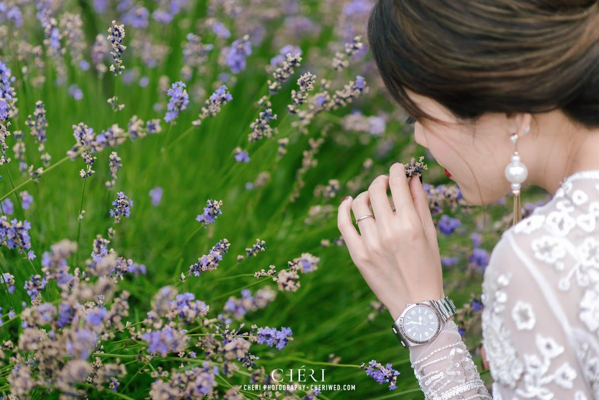 cheriwed pre wedding in hokkaido japan tomita farm lavender field 48 - Pre-Wedding Photo in Hokkaido, Japan with Lavender Field at Tomita Farm - Lowina & Simon from Hong Kong