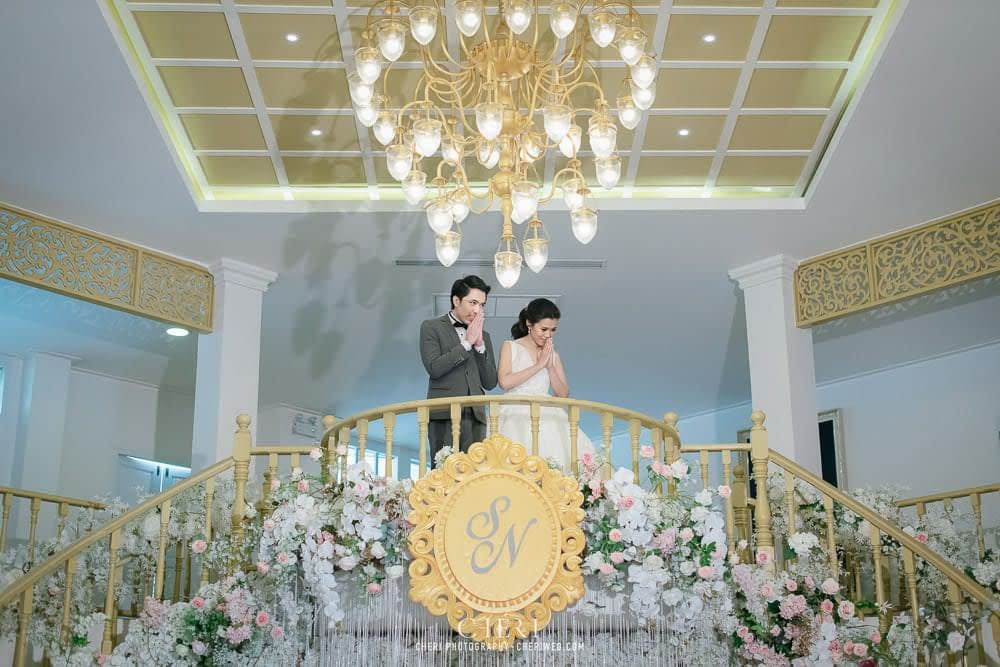 RuenPraKaiPetch wedding reception in bangkok cheri wedding 66 - งานฉลองมงคลสมรส แต่งงาน เรือนประกายเพชร เรือนไทยสไตล์โคโลเนียล คุณสุนิธี และคุณนัฐวุฒิ