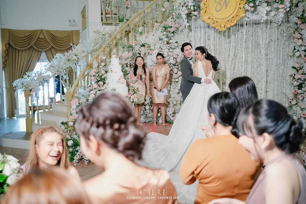 RuenPraKaiPetch wedding reception in bangkok cheri wedding 136 - งานฉลองมงคลสมรส แต่งงาน เรือนประกายเพชร เรือนไทยสไตล์โคโลเนียล คุณสุนิธี และคุณนัฐวุฒิ