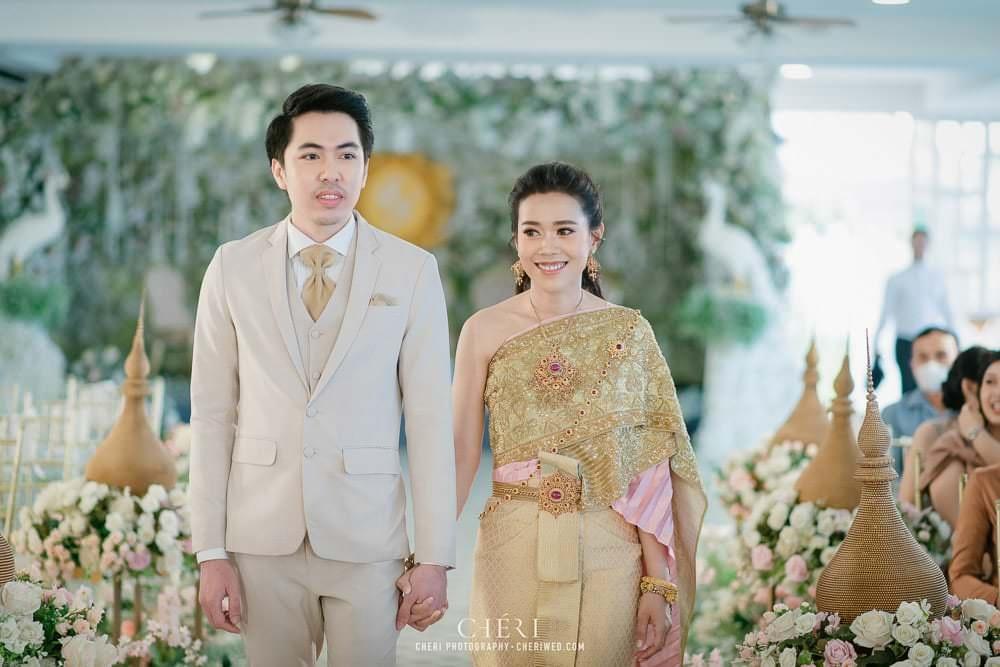 RuenPraKaiPetch thai wedding ceremony cheri weding 41 - รีวิว ภาพถ่ายผลงาน งานแต่งพิธีหมั้นแบบไทย สถานที่จัดงานแต่งงาน ริมทะเลสาบ เรือนประกายเพชร เรือนไทยสไตล์โคโลเนียล คุณสุนิธี และคุณนัฐวุฒิ