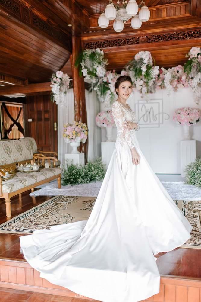 cheri wedding at home wedding reception thailand 34 - งานแต่งที่บ้าน งานแต่งงาน งานเลี้ยงฉลอง มงคลสมรส คุณนิว และคุณอู๋ จังหวัดสุราษฎร์ธานี