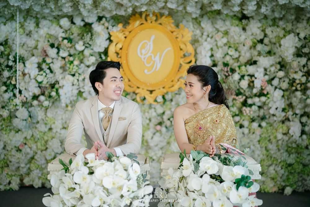 RuenPraKaiPetch thai wedding ceremony cheri weding 195 - รีวิว ภาพถ่ายผลงาน งานแต่งพิธีหมั้นแบบไทย สถานที่จัดงานแต่งงาน ริมทะเลสาบ เรือนประกายเพชร เรือนไทยสไตล์โคโลเนียล คุณสุนิธี และคุณนัฐวุฒิ