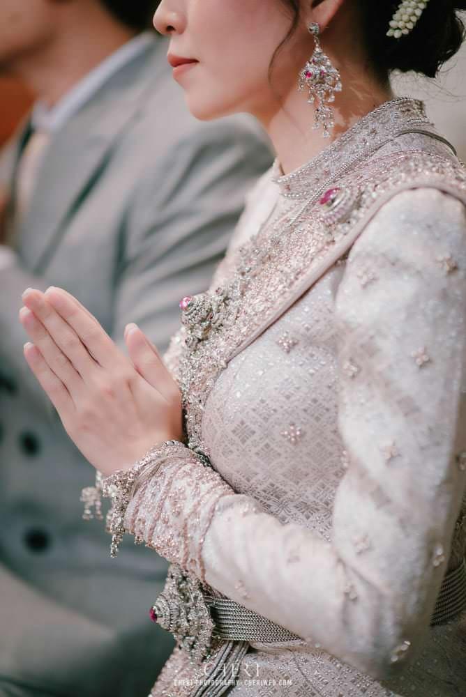 รวมภาพเจ้าสาวในชุดไทยจักรี ชุดไทยจักรพรรดิ 2020 - Beautiful Bride in Thai Traditional Wedding Dress 7