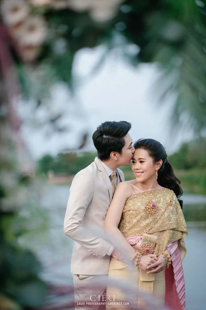 RuenPraKaiPetch thai wedding ceremony cheri weding 25 - รีวิว ภาพถ่ายผลงาน งานแต่งพิธีหมั้นแบบไทย สถานที่จัดงานแต่งงาน ริมทะเลสาบ เรือนประกายเพชร เรือนไทยสไตล์โคโลเนียล คุณสุนิธี และคุณนัฐวุฒิ