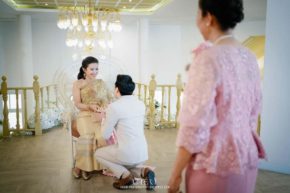 RuenPraKaiPetch thai wedding ceremony cheri weding 146 - รีวิว ภาพถ่ายผลงาน งานแต่งพิธีหมั้นแบบไทย สถานที่จัดงานแต่งงาน ริมทะเลสาบ เรือนประกายเพชร เรือนไทยสไตล์โคโลเนียล คุณสุนิธี และคุณนัฐวุฒิ