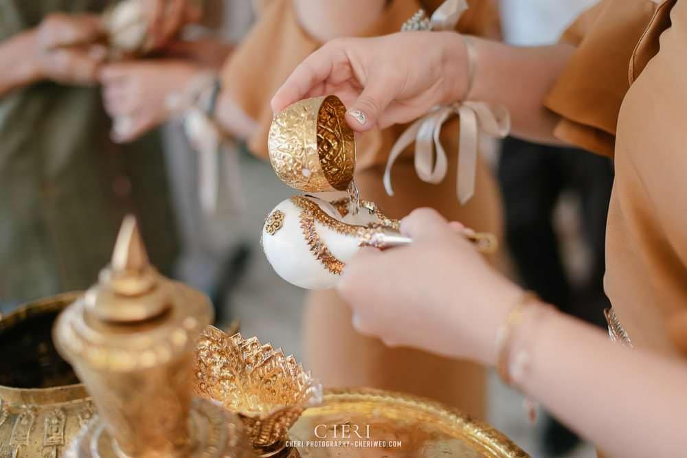 RuenPraKaiPetch thai wedding ceremony cheri weding 206 - รีวิว ภาพถ่ายผลงาน งานแต่งพิธีหมั้นแบบไทย สถานที่จัดงานแต่งงาน ริมทะเลสาบ เรือนประกายเพชร เรือนไทยสไตล์โคโลเนียล คุณสุนิธี และคุณนัฐวุฒิ