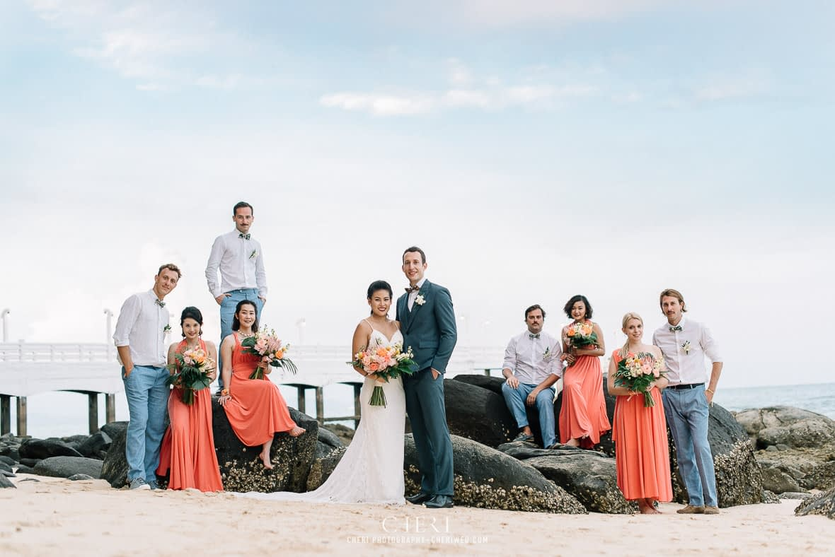 thailand destination beach western wedding photography cape panwa beach phuket 303 - Thailand Beach Western Destination Wedding at Cape Panwa Hotel Phuket, Nokweed and JB