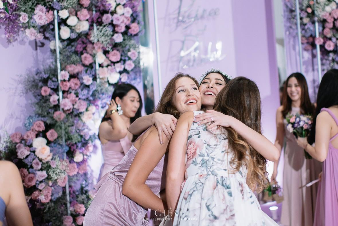 so sofitel bangkok wedding reception cheriwed tua pa 330 - SO Sofitel Bangkok Wedding Reception of Pa and Tua - งานแต่งงานสุดชิคในธีมสีม่วง ทุ่งลาเวนเดอร์ ที่โรงแรม โซ โซฟิเทล เเบงคอก