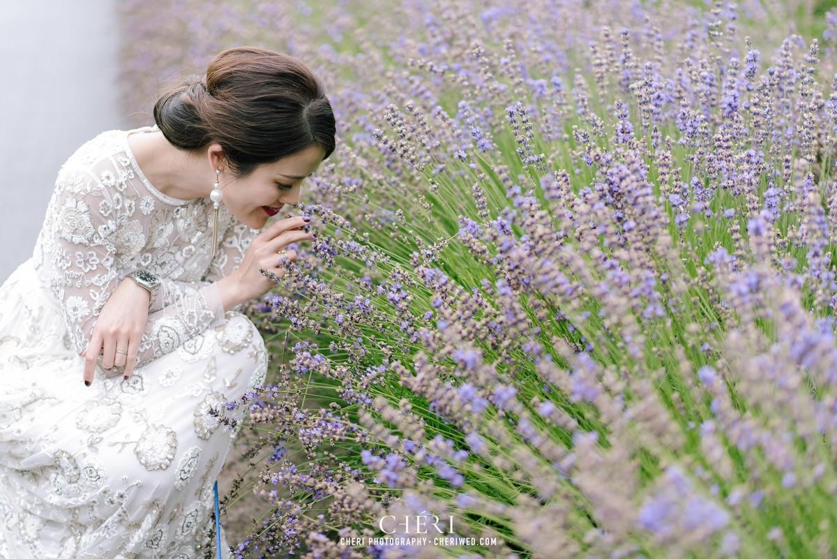 cheriwed pre wedding in hokkaido japan tomita farm lavender field 46 - Pre-Wedding Photo in Hokkaido, Japan with Lavender Field at Tomita Farm - Lowina & Simon from Hong Kong