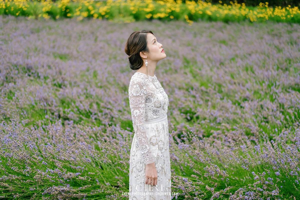 cheriwed pre wedding in hokkaido japan tomita farm lavender field 39 - Pre-Wedding Photo in Hokkaido, Japan with Lavender Field at Tomita Farm - Lowina & Simon from Hong Kong