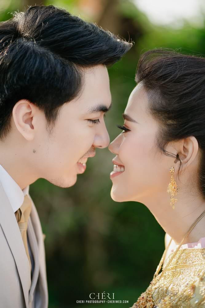 RuenPraKaiPetch thai wedding ceremony cheri weding 01 - รีวิว ภาพถ่ายผลงาน งานแต่งพิธีหมั้นแบบไทย สถานที่จัดงานแต่งงาน ริมทะเลสาบ เรือนประกายเพชร เรือนไทยสไตล์โคโลเนียล คุณสุนิธี และคุณนัฐวุฒิ