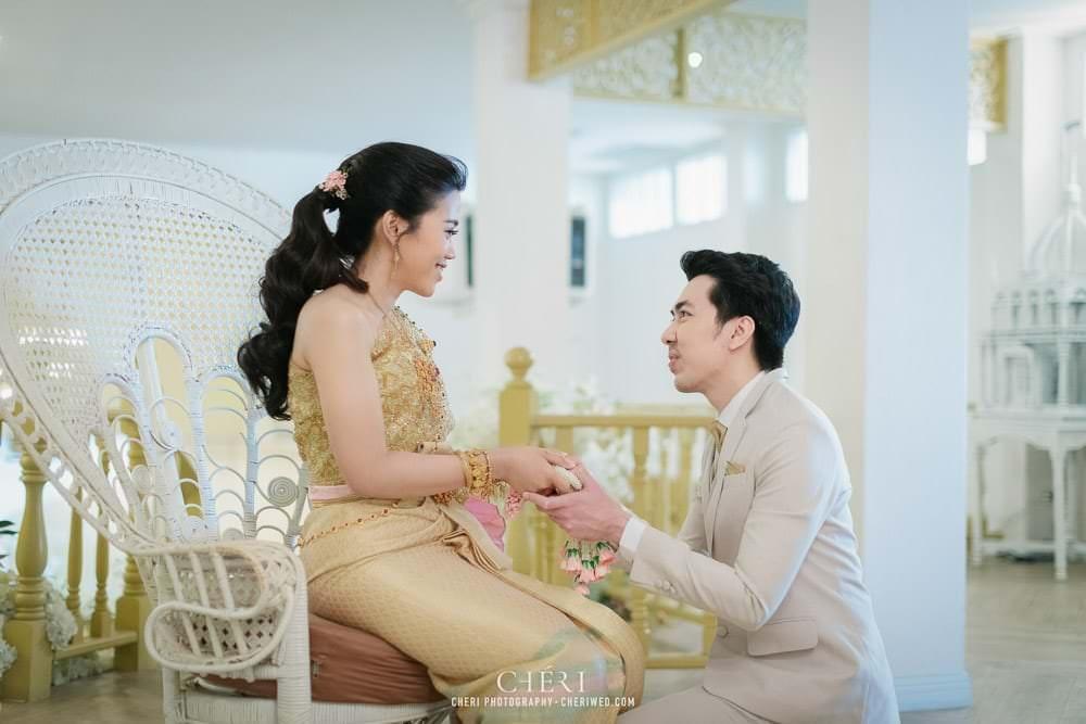 RuenPraKaiPetch thai wedding ceremony cheri weding 147 - รีวิว ภาพถ่ายผลงาน งานแต่งพิธีหมั้นแบบไทย สถานที่จัดงานแต่งงาน ริมทะเลสาบ เรือนประกายเพชร เรือนไทยสไตล์โคโลเนียล คุณสุนิธี และคุณนัฐวุฒิ